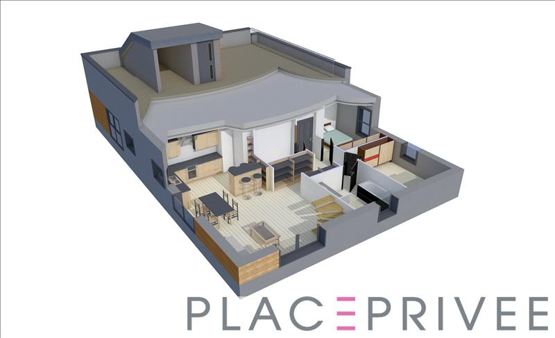 APPARTEMENT F3 BBC DE 73.9m² AVEC TERRASSE À NANCY
