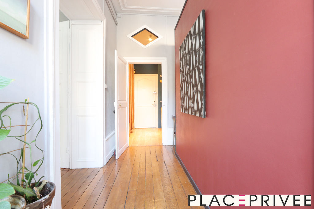 VEND APPARTEMENT RENOVÉ DE 80 M² NANCY CENTRE - CHARLES III 8/11