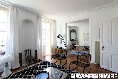 Appartement F4 duplex 94.50 m² - 2 chambres - balcon à NANCY